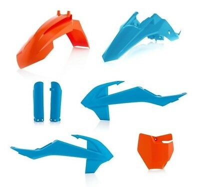 Acerbis KTM Plastik Satz Kit Troy Lee Design Limited Blau SX 65 16- Racing