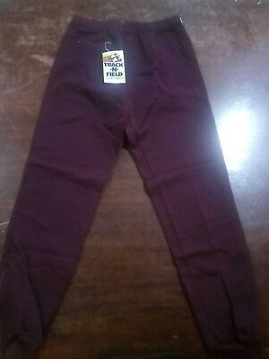 TRACK N FIELD Track PANTS SIZE18.Vintage 1970s.BNWT. Made in Australia.