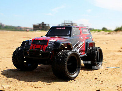 Red New High-Speed Length 42cm 2.4G Remote Control Simulation Car Gift Toy  #