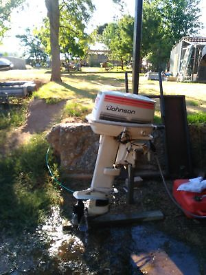 35 hp Johnson 2cyl Outboard Motor