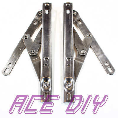 PVC Window Top Hung Hinges | Stainless Steel Friction Stay Easy Movement Hinge