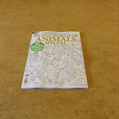 Colouring Heaven #33 Secret World Of Animals Whimsical Designs Adult Colouring