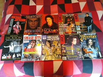 Michael Jackson Magazine Bundle