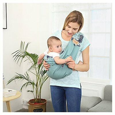 c13a7229c36 Baby Carrier sling by TIANER Natural Cotton wrap for Infants Soft Nursing  Cover