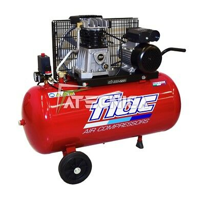 Compressor air belt 100 l Fiac AB 100-268 T 400V 1,5 kw professional
