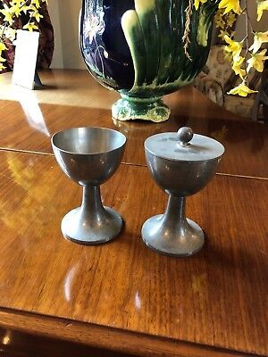 Church Priests Pair of Goblets  - Left In Rectory