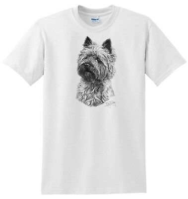 Mike Sibley Border Terrier Dog Breed Cotton T Shirt Assorted sizes S-3xl Gift