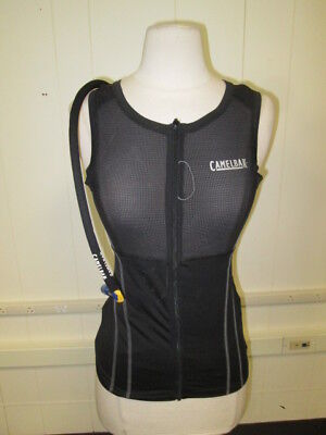 Women's Camelbak Vest Mid Layer Size Medium Full Zip Front - Pre-Owned
