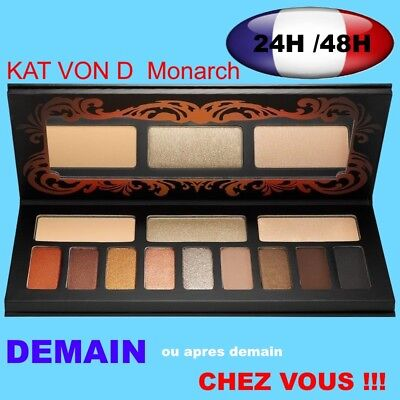 Kat Von D Shade + monarch eyeshadow  Palette fards a paupiéres neuve