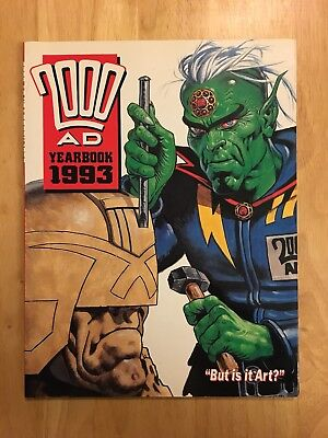 2000 AD - Yearbook 1993 - VGC Book