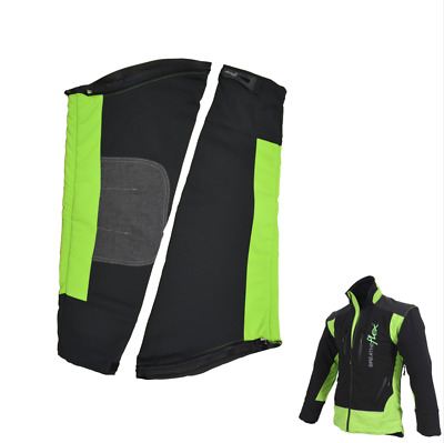 Arbortec Breatheflex Zip-Off Chainsaw Sleeves Lime/Black for Breatheflex Jackets