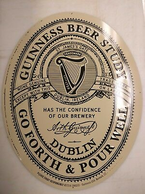 Guiness Beer Co Sign