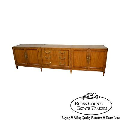 Regency Directoire Style Vintage 9 ft Long Sideboard by Metz