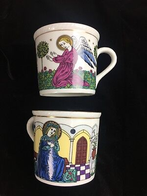 ROYAL DOULTON Bone China The Annunciation Noel Christmas Limited Edition Tea Cup