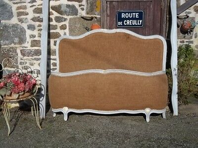 Vintage French Double Corbielle For Reupholstering Style Louis Xv