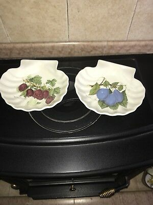Portmeirion Pomona Shell Rare Dishes