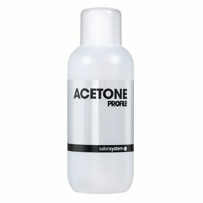 Salon System Profile * Acetone * Gel Nail Polish Soak-Off Remover Cleanser 500ml