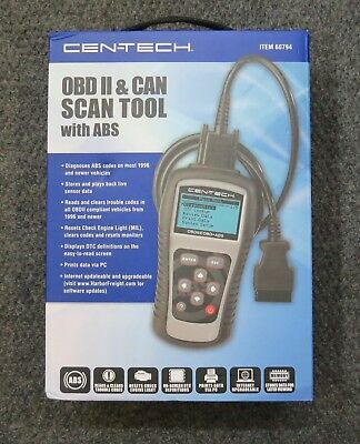 Cen-Tech 60794 Can & OBD II Scan Tool With ABS