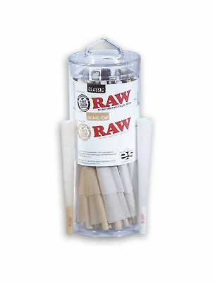 RAW King Size Organic and Classic Pre-Rolled Cones with Filter Tips (25 Class...