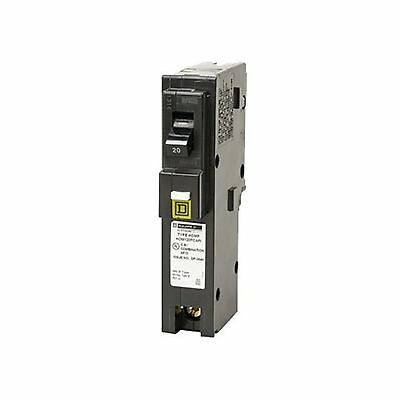 Square D by Schneider Electric HOM120PCAFIC Homeline Plug-On Neutral 20 Amp S...