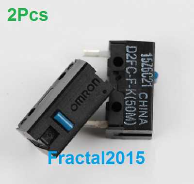 2PCS D2FC-F-K(50m) D2FC-F-K Mouse Micro Switch