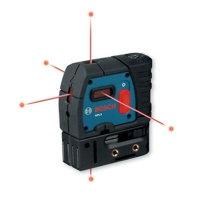 NEW Bosch GPL 5 S Self-Leveling Alignment Laser 5-Point
