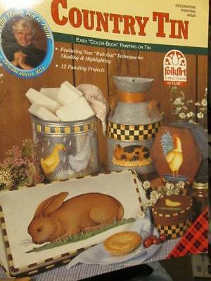 Priscilla's Country Tin Painting Book-Hauser-Farm Animals & Birds
