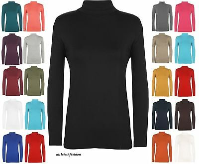 Childrens Kids Boys Girls Polo Neck Long Sleeved Top T-Shirt 2-13 Years