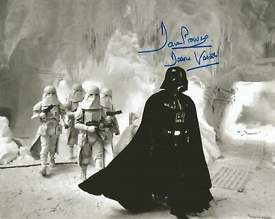 Dave Prowse Star Wars PHOTO PROOF Vader Hand Autographed photo - COA UACC