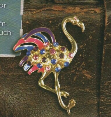 FIREFLY Flamingo Jewelled Pin BADGER SERENITY Loot Crate #11