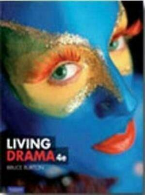 Living Drama by Bruce Burton Paperback Book Free Shipping!