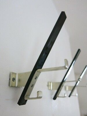 Vintage Mid Century Modernist Space Age East German Coat Hook