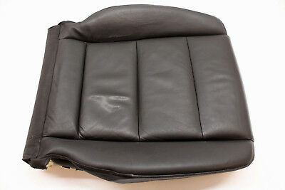 2006 Audi A4 Front Left Lower Seat Cushion Black Leather Oem 05 06 07 08
