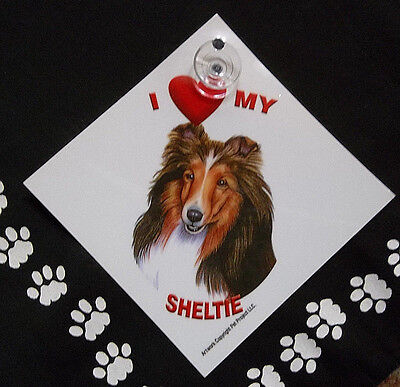 Sheltie Auto Decal