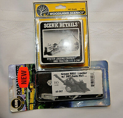 2 x Highly Detailed Metal Kits - Corn Picker & Hyster Logging (TFS117)