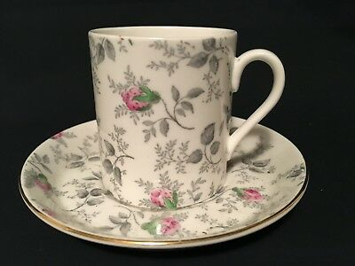 Royal Tuscan Coffee Cup & Saucer Fine Bone China Duo Cabinet Espresso Can ( 8 )