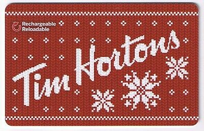 Tim Hortons Canada Gift Card - Collectible No Value  #  Fd49460 Dv