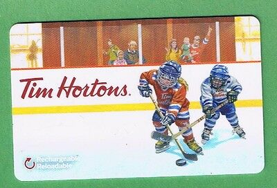 Tim Hortons Canada Gift Card - Collectible No Value  #  Fd49248 Du  Hockey