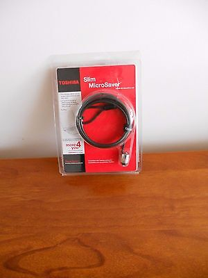 New in Packaging Toshiba Slim MicroSaver Cable Lock