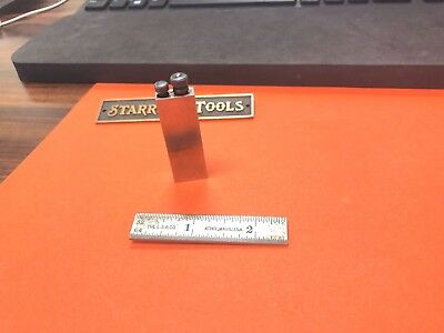 "STARRETT No.453 Inch Reading Diemakers' Square – Graduation 32nds, 64ths. ""USA""."