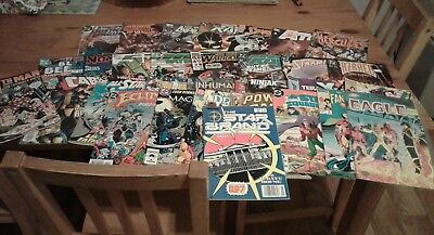 Bundle of 31 dc,marvel and various comics,bronze/copper/modern age,mainly fine.