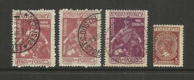 Portugal ~ 1915-1921 Telegraph Stamps