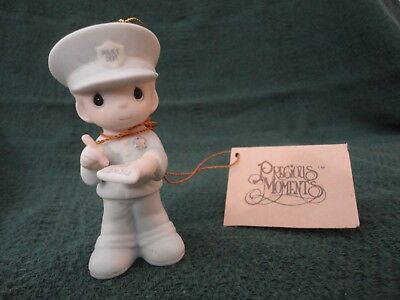 1986 Enesco Trust and Obey Ornament Policeman Police