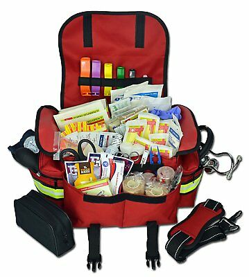 Trauma Bag First Aid Kit First EMT EMS Paramedic Responder Complete S