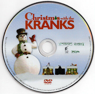 Christmas With The Kranks Dvd Tim Allen Jamie Lee Curtis ** Dvd Disc Only **