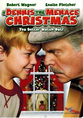 A Dennis The Menace Christmas 2007 Dvd Robert Wagner Widescreen Like New Rated G