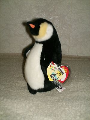 """TY BEANIE BABY """"ADMIRAL"""" SANTA BARBARA ZOO EXCLUSIVE never played"""