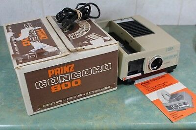 Prinz Vintage Iq 800 35 Mm Colour Slide Projector In Excellent Condition