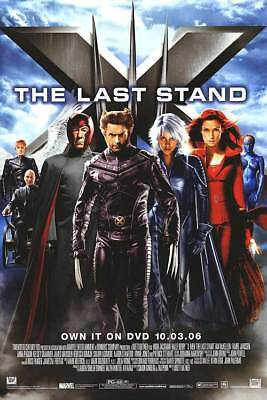 X-MEN THE LAST STAND DVD MOVIE POSTER 1 Sided ORIGINAL 27x40 HUGH JACKMAN