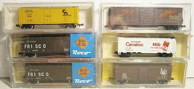 6 N Scale Freight Cars ............Scroll Down